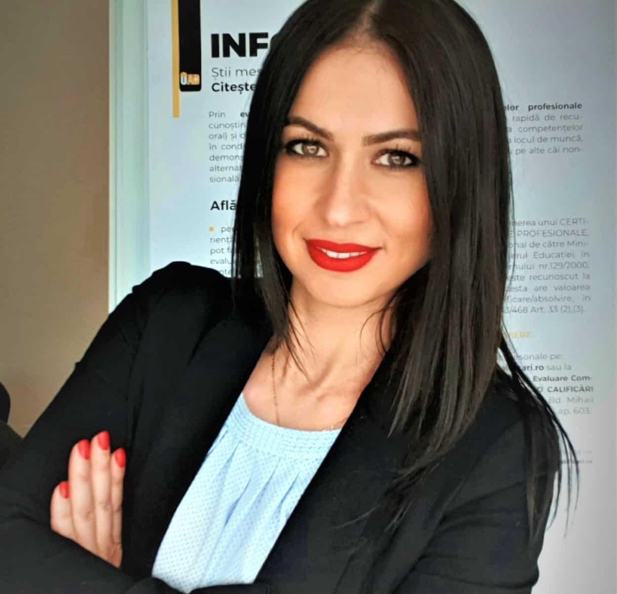 Ludmila Socaciu - Coordonator Centru OPTIM AD CALIFICARI BRASOV- Centru de formare profesionala si evaluare_Autorizat de AUTORITATEA NATIONALA PENTRU CALIFICARI (ANC)