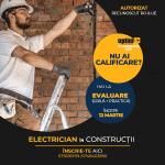 curs calificare electrician constructii Optim Ad Calificari Brasov