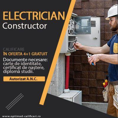 cursuri acreditate ELECTRICIAN IN INSTALATII ENERGETICE