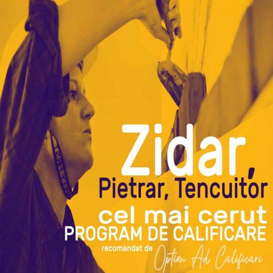 Cursuri autorizate Zidari _OPTIM AD CALIFICARI BRASOV